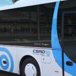 Autobus s grafikou ČSAD Uherské Hradiště