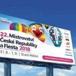 Billboard pro balónové mistrovství